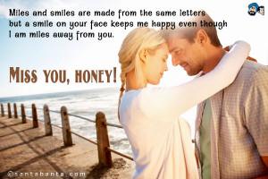 Miss you honey...