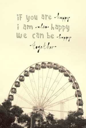 If you are happy, I am also happy, we can be happy togetherxreighted: