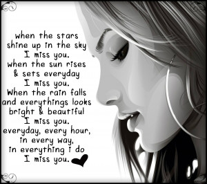 Beautiful Quotes On Girls Cool Download Beautiful Girl Miss U Quote ...
