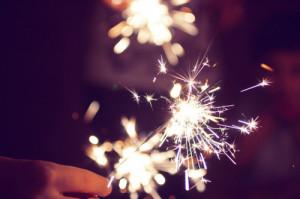 bright, fireworks, sparklers, sparkling