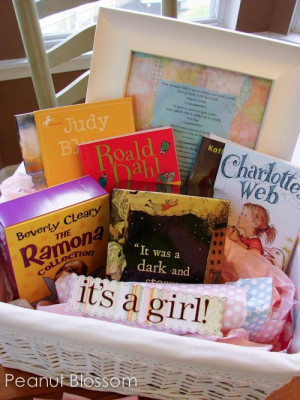 baby shower gift: My book club gave us a starter library for our baby ...