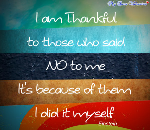 motivational quotes - I am thankful to those
