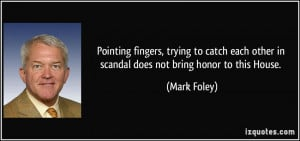 Pointing fingers, trying to catch each other in scandal does not bring ...