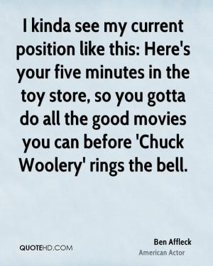 Ben Affleck Movies Quotes