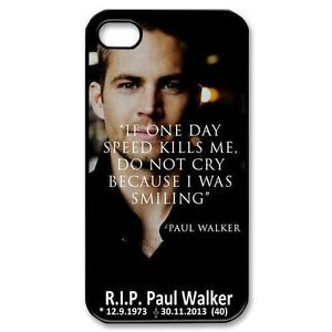 Details about paul walker quotes rip - iPhone 44S,55S,5C,6,S amsung S3 ...