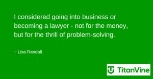 ... quote from lisa randall business business motivational quotes lisa