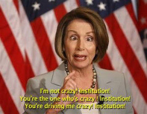 Nancy Pelosi Is INSANE.