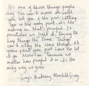 Quotes - Grey's Anatomy Quotes W...