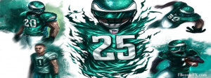 Philadelphia Eagles Football Nfl 16 Facebook Cover