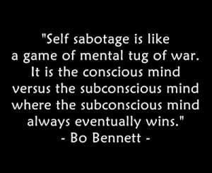 How to conquer self-sabotage