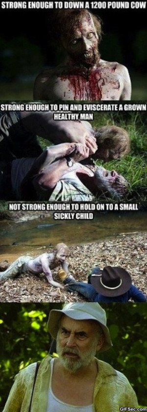 The Walking Dead - Funny Pictures, MEME and Funny GIF from GIFSec.com