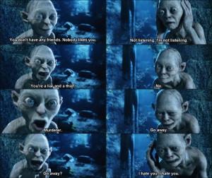 Gollum and Sméagol