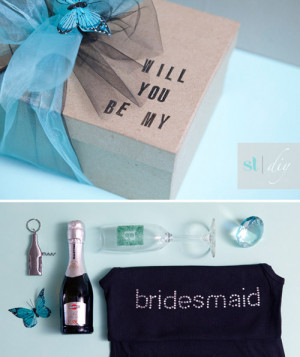 DIY Roundup: Will You Be My Bridesmaid?