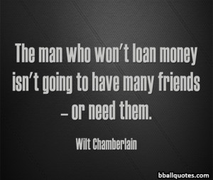 Wilt Chamberlain Quotes | Best Basketball Quotes