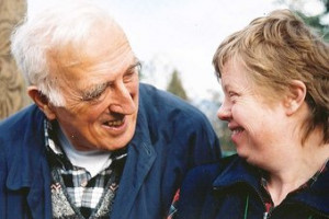Jean Vanier (pictured) speaks of the shame that often pervades the ...