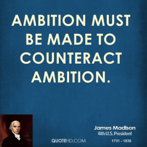 Ambition Must Made Counteract