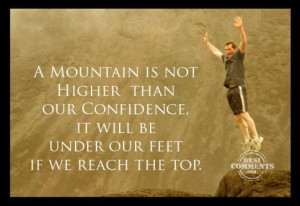 If we reach the top