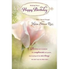Helen Steiner Rice Birthday Poems