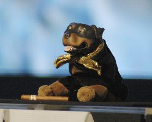 Triumph the Insult Comic Dog - Photo by Ethan Miller/Getty Images