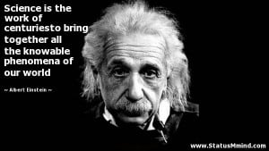Famous Science Quotes By Albert Einstein Science Quotes Albert ...
