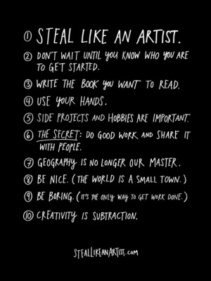 Austin Kleon on 10 Things Every Creator Should Remember But We Often ...