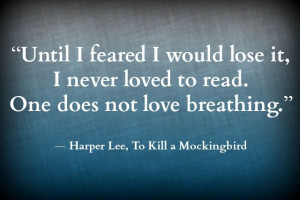 Steph's Stacks: Quote of the Week: To Kill a Mockingbird by Harper Lee