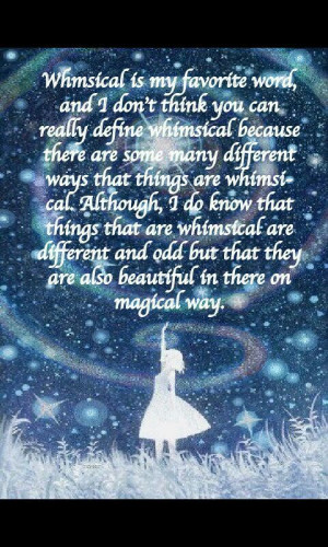 Whimsical quote