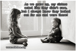 Brother and Sister Quotes orkut scraps