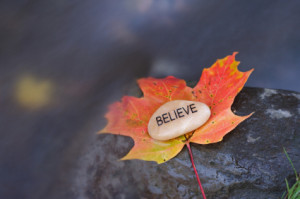 You have to believe in yourself to be self motivated.