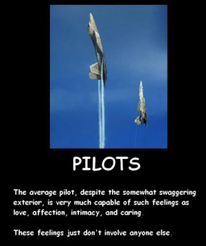 The average pilot and feelings