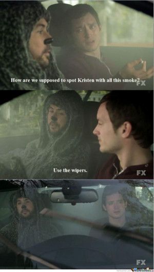 Smoking Weed With Wilfred.