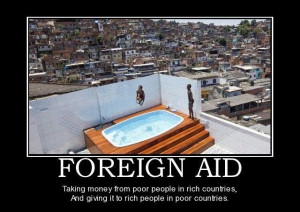 End foreign aid, let's pay our debt instead.