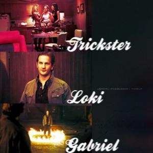 Supernatural Trickster | deviantART: More Like Supernatural - Gabriel ...