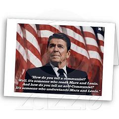 Ronald Reagan Quote Greetings Card (Patriot Designs) Tags: usa ...