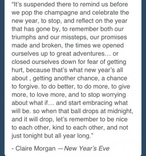 New Years Eve Movie Quotes New year's eve movie quote (hilary swank's ...
