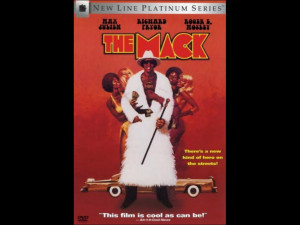 The movie poster for the film The Mack