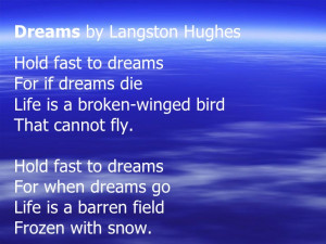 Dreams Poem & Rhyme Scheme