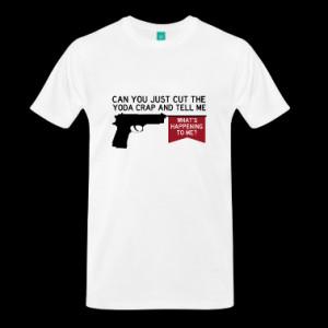 Fringe Quote: Cut the Yoda crap T-Shirt