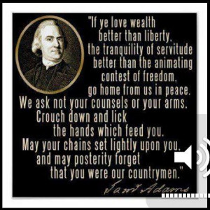 Go back gt gallery for gt samuel adams quotes on taxes