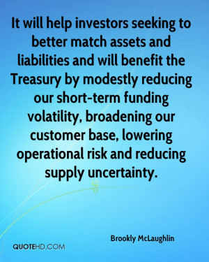 It will help investors seeking to better match assets and liabilities ...