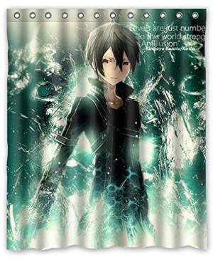 PRANO Sword Art Online Kirigaya Kazuto Kirito Green Cool Design Shower ...
