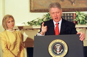 Hillary also said she blamed herself for Bill's dalliance. Monica ...