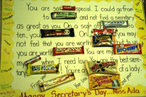 Staff Appreciation - Although this one is geared toward a secretary ...
