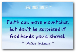 God Quotes About Faith Faith quote