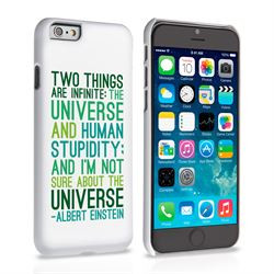 ... Apple / iPhone 6 Cases / Caseflex iPhone 6 Albert Einstein Quote Case