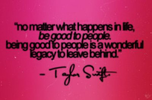 Fun Taylor Swift quote