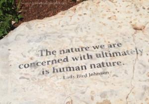 Lady Bird Johnson quote