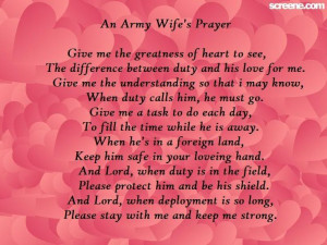 Image detail for -An Army Wife's Prayer picture by mrswolz ...