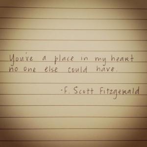 Gatsby Love Quotes , F Scott Fitzgerald Love Quotes Tumblr , F Scott ...