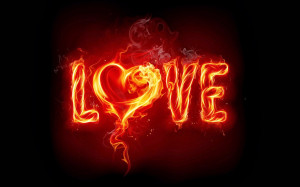 Download Love Wallpaper Burning Love